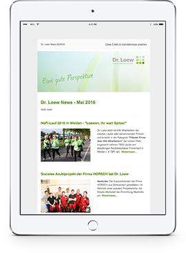 Ipad-newsletter